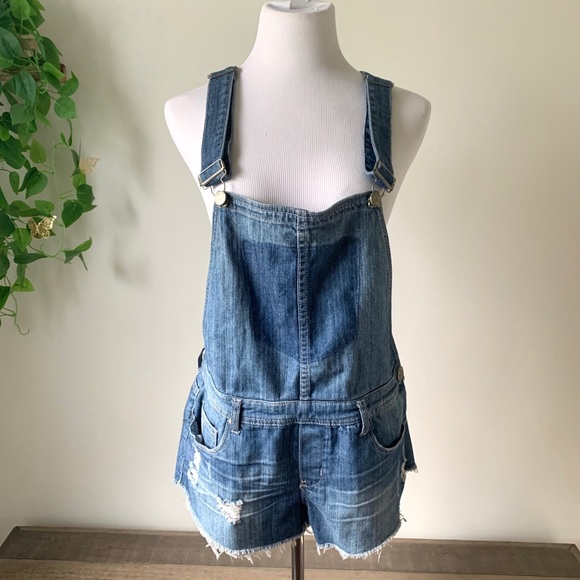 Blank NYC Shorts Overalls